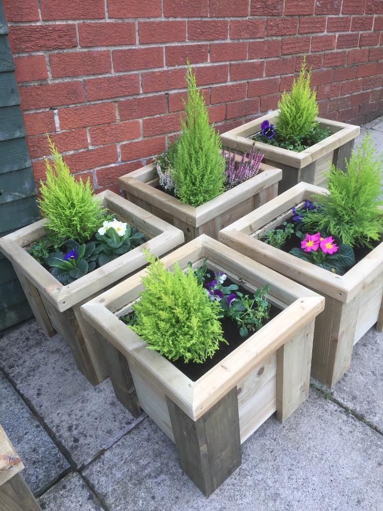 Planters window boxes