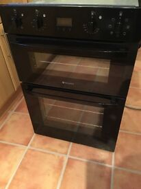 Hotpoint oven DH93K 4700-5100W.Fan assisted Double oven
