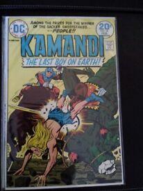 Bargain New Gods and Kamandi comics for sale!