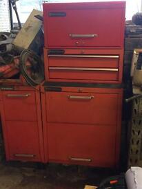 Sykes pickavant 4 piece tool chest
