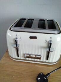 Breville Cream 4 Slice Toaster