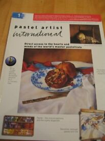 Pastel Artist International Magazine Issue No. 1 (Aug/Sept/Oct 1999) - Very Rare