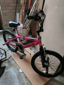 Kobe Invader BMX Electric Pink.