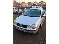 VW POLO 2003 1.2L SE PETROL 3 DOOR SILVER £275