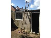 11 ft alloy ladders