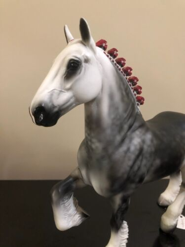 Peter Stone Horse - Snow Dragon 9756 / 2001 SIGNED.  Used.  Unboxed