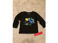 New with Tags! Dino Shirt Size 18 Months - WILL POST FOR £2