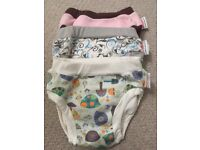 Cloth nappies for potty training