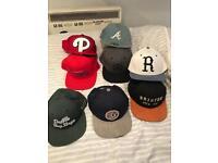 Men's branded flat caps