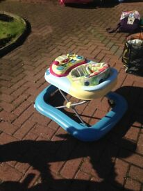 Chicco activity baby walker