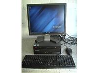 LENOVO M57 6071 COMPUTER SET UP