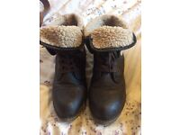 Blowfish faux fur lined boots!