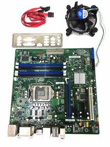 INTEL Mother board DQ67SW mATX LGA 1155 Esata display port with fan & I/O shield