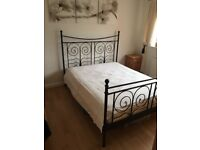 King Size Bed + Mattress