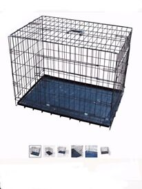 Dog Cage Crates Puppy XXL Training Metal Cages