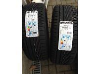 2x Uniroyal Rainsport 3 tyres 205 55 16