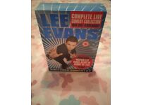 Lee Evans box set not opened