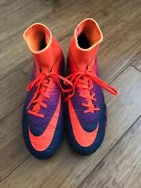Nike Hypervenom Sock Boots Size 4