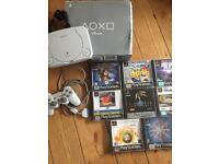 Boxed PlayStation 1 Ps1 bundle with games