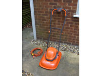 Flymo 330 Electric Lawnmower Hover Mower 33cm Turbo Lite FREE LOCAL DELIVERY