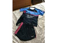 Girls St Benedicts College Randalstown Uniform PE kit Top Shorts socks