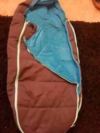 Turquoise quinny footmuff