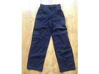 Official Scout Navy Trousers Age 9 - 10 years Excellent Condition