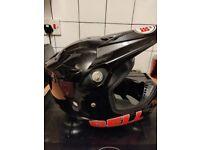 Bell Motorcross/Motorbike Helmet - Medium