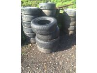 job lot part worn tyres