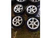 """15"""" GENUINE SMART FORTWO PASSION PULSE 2013 SET OF 4"""