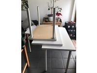 Ikea desks / tables with height adjustable legs