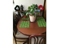 Cherry Dining table set WOOD!!