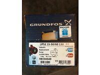 Brand new in box Grunfos 15/50-15/60 complete pump