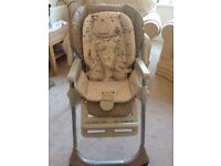 New Chicco Polly Easy Highchair, Nature