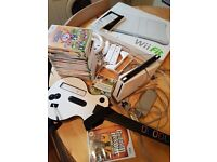 Nintendo wii, Guitra Hero, Games and Wii Fit
