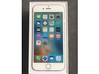 iPhone 6 silver 16gb mint condition original box all accessory