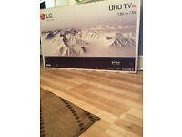 "NEW IN BOX! SEALED! LG 55"" Inch LED 4K ULTRA HD UHD SMART TV with Active HDR & Freeview HD 55UJ635V"