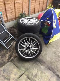 BMW 330d alloys