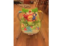 Fisher price rainforest baby bouncer chair