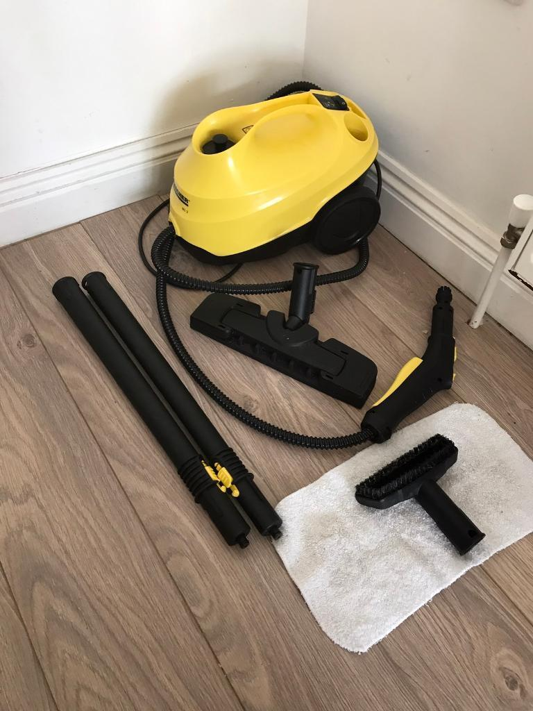 Karcher SC3 Steam CleanerSteam Mopin Plymouth, DevonGumtree - Karcher all in one SC3 Steam Cleaner / Mop. Only purchased around 3 months ago, selling as moving away and downsizing. Great little cleaner, comes with all the bits shown. Cost over £120, asking £65. Can deliver for extra if required. Located in...
