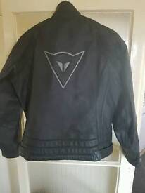 Dainese Leather Jacket to fit size M (46-50)