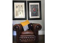 Original chesterfield club chair