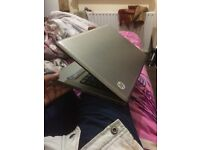 laptop hp intel core i3 15.6 inch wide 4g ram 500g hard drive win 10 selling as got mac