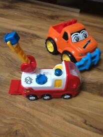 Toddler toy - truck and fire engine