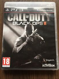 PS3 Call of Duty Black Ops 2 Game