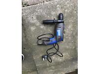Energer 710w hammer drill. Swap strimmer/hedge trimmer