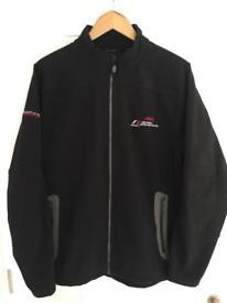 Formula 1 Soft Shell Jacket - Fleece Lined, Water Resistant - XL / 14-16