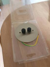 Double dimmer new in box