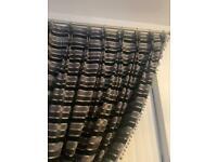 Handmade double pencil pleat curtains