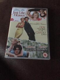 Set of 3 DVDs